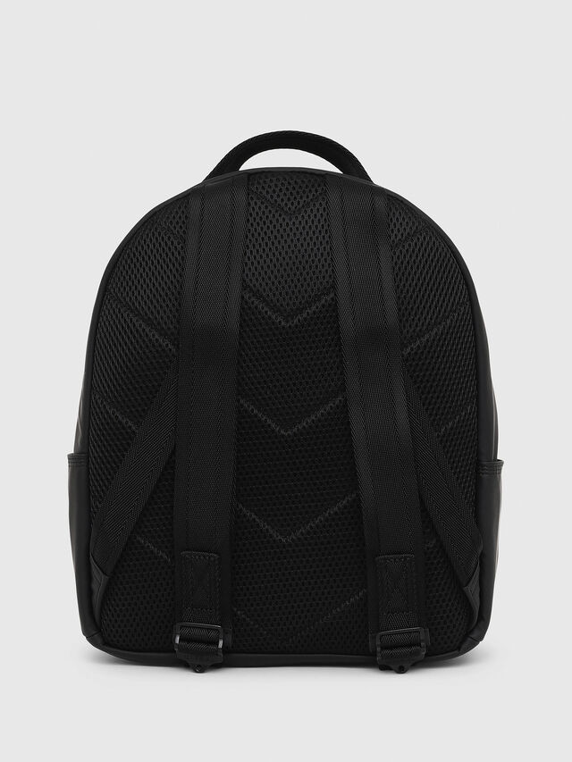 Diesel - F-BOLD BACK FL, Bright Black - Backpacks - Image 2