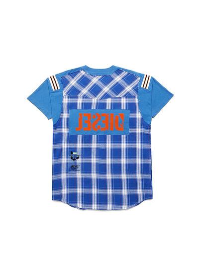 Diesel - D-WESTERNSPORT, Light Blue - T-Shirts - Image 2