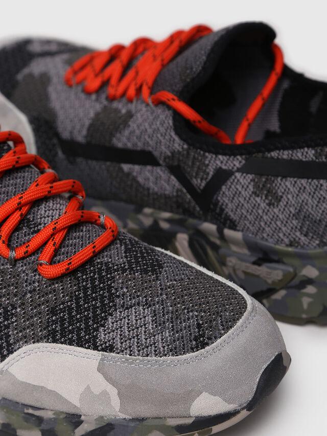 Diesel - S-KBY, Gray/Black - Sneakers - Image 4