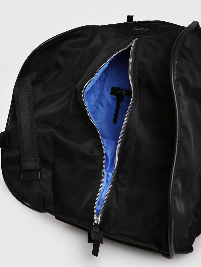 Diesel - F-LAW BACK, Black/Blue - Backpacks - Image 3