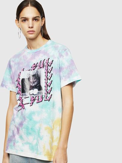 Diesel - T-DARIA-M, Multicolor - T-Shirts - Image 1
