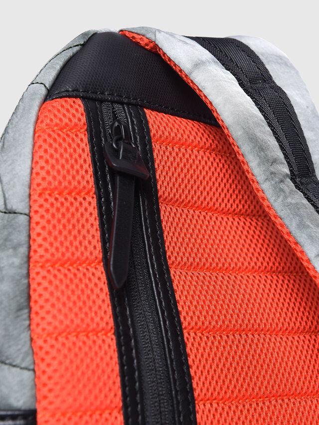 Diesel - F-HEYODA MONO, Light Grey - Backpacks - Image 4