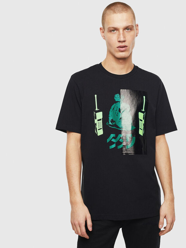 T-JUST-T30, Black - T-Shirts