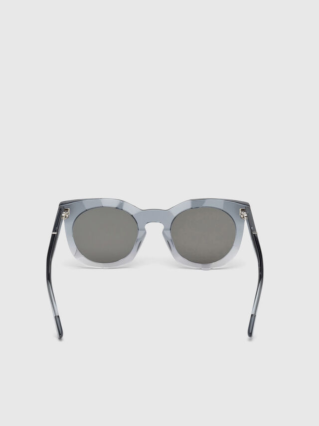 Diesel - DL0270, Grey - Sunglasses - Image 4