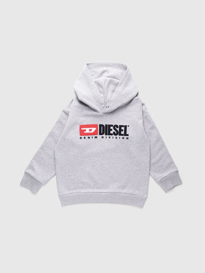 Diesel - SDIVISION OVER, Grey - Sweaters - Image 1