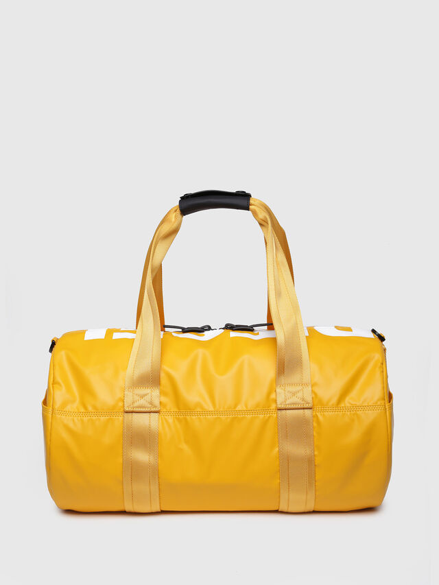 Diesel - F-BOLD DUFFLE, Yellow Ocher - Travel Bags - Image 2