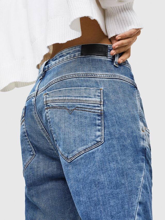 Diesel - Fayza JoggJeans 0870K, Light Blue - Jeans - Image 4
