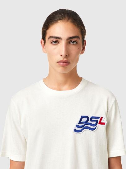 Diesel - T-JUST-B83, White - T-Shirts - Image 3