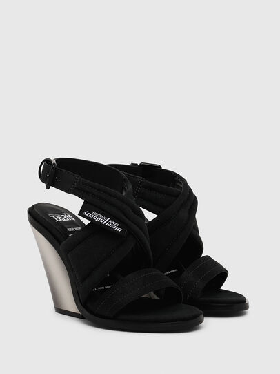 Diesel - SA-FLAMINGO XR, Black - Sandals - Image 2