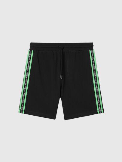 Diesel - UMLB-EDDY, Black/Green - Pants - Image 1