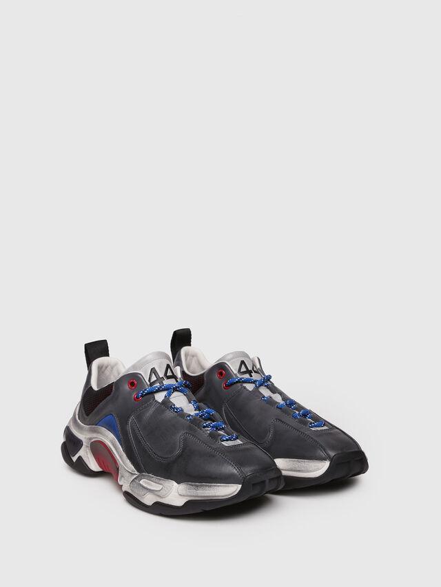 Diesel - S-KIPPER LC, Grey - Sneakers - Image 3