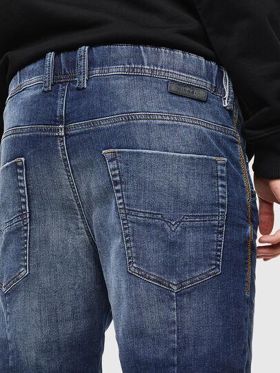 Diesel - D-KROOSHORT JOGGJEANS, Medium blue - Shorts - Image 5