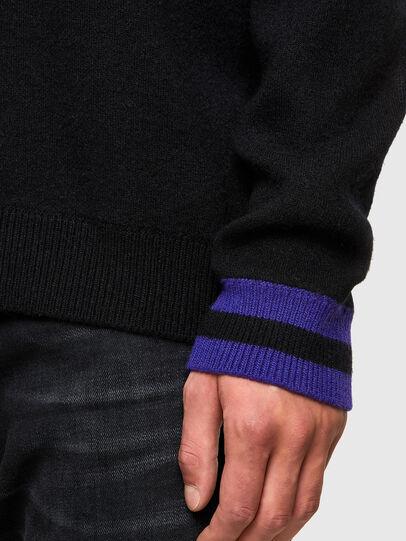 Diesel - K-NOAH, Black - Knitwear - Image 3