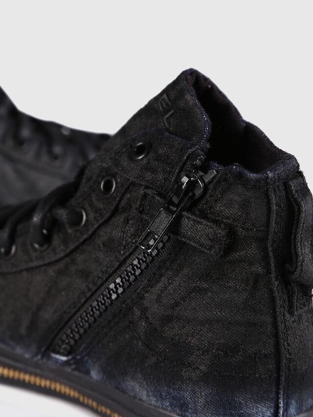 Diesel - SN MID 30 EXPOSURE Z, Black/Blue - Footwear - Image 5
