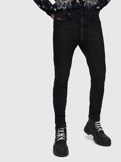Diesel - D-Amny 0890U, Black/Dark grey - Jeans - Image 1
