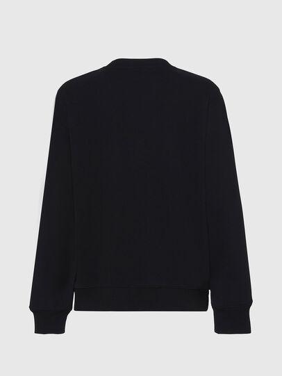 Diesel - F-ANG, Black/White - Sweaters - Image 2