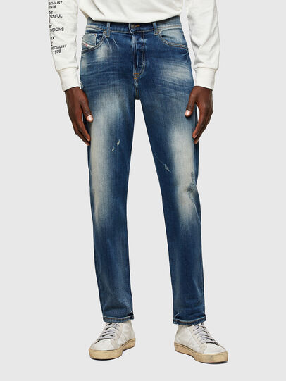 Diesel - D-Fining 009RS, Dark Blue - Jeans - Image 1