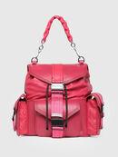 MISS-MATCH BACKPACK, Hot pink - Backpacks