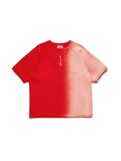 Diesel - GR02-T301, Red/White - T-Shirts - Image 1