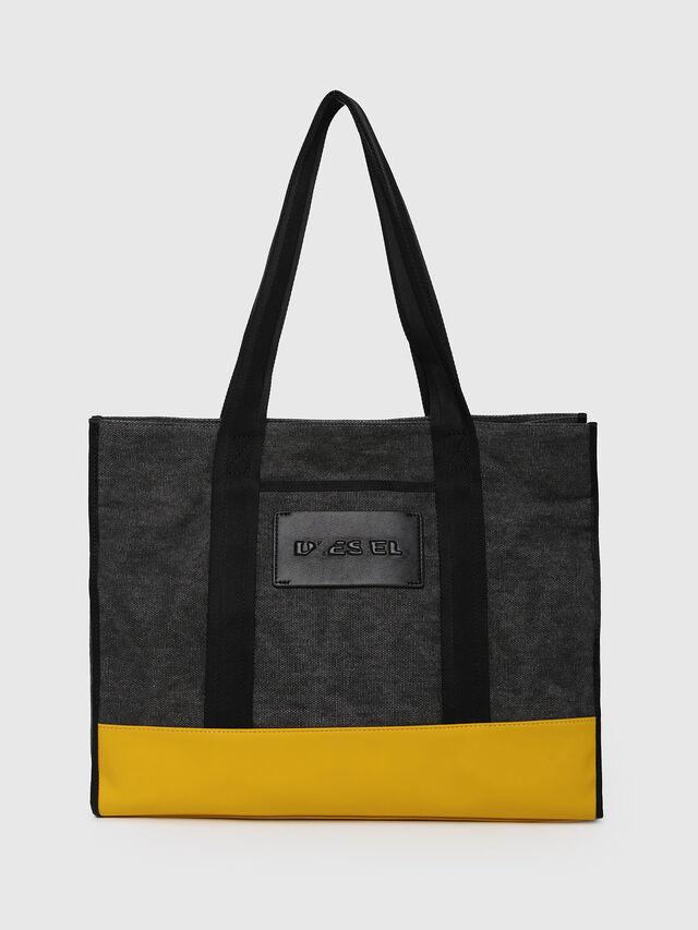 Diesel - M-CAGE SHOPPER, Dark Melange - Shopping and Shoulder Bags - Image 1