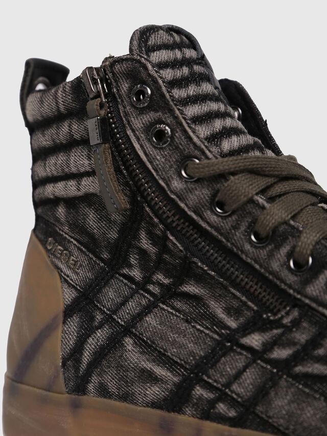 Diesel - D-VELOWS MID GUM, Black Jeans - Sneakers - Image 4
