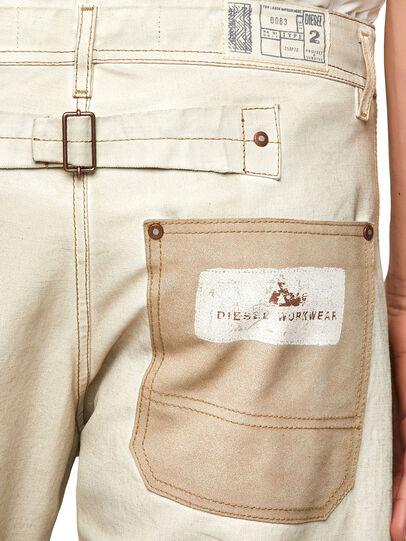 Diesel - DxD-5, White - Pants - Image 3