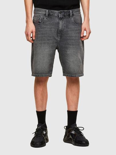 Diesel - D-STRUKT-SHORT, Black - Shorts - Image 1