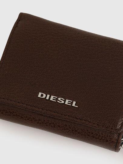 Diesel - SPEJAP, Brown - Small Wallets - Image 5