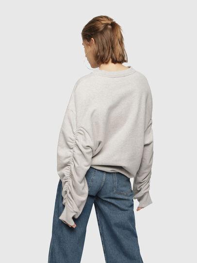 Diesel - F-ARAP, Light Grey - Sweaters - Image 2