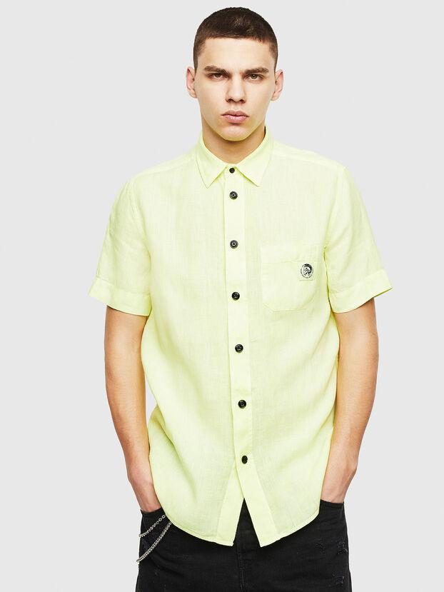 S-KIRUMA-B, Yellow Fluo - Shirts
