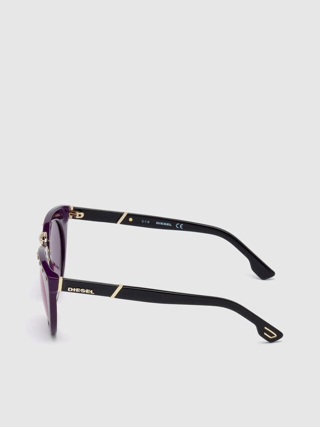 Diesel - DL0211, Violet - Eyewear - Image 4