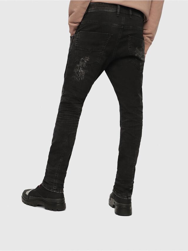 Diesel - Krooley JoggJeans 069DT, Black/Dark grey - Jeans - Image 2
