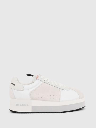 Diesel - S-PYAVE WEDGE, White/Pink - Sneakers - Image 1
