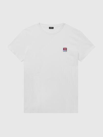 Diesel - T-DIEGO-DIV, White - T-Shirts - Image 1