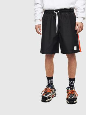 P-KEITH, Black - Shorts