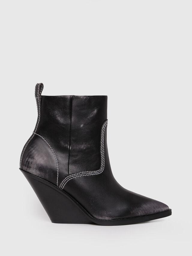Diesel - D-WEST AB, Black - Ankle Boots - Image 1