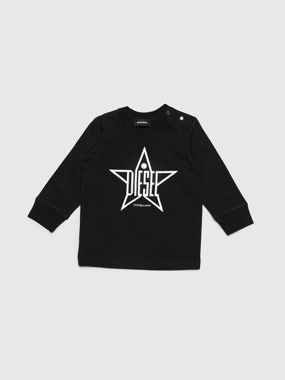 Diesel - TDIEGOYHB-ML, Black - T-shirts and Tops - Image 1