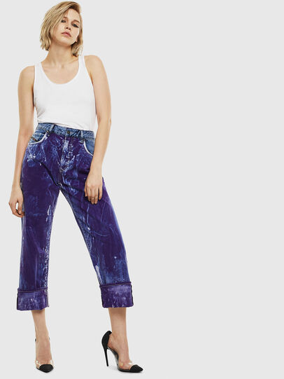 Diesel - D-Reggy 069NW, Medium blue - Jeans - Image 7