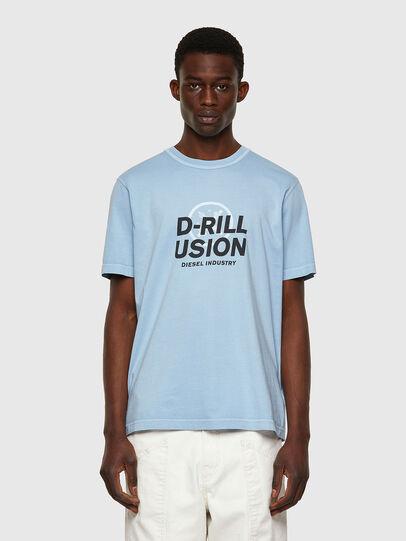 Diesel - T-JUBINDY, Light Blue - T-Shirts - Image 1