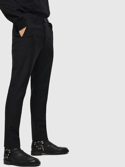 Diesel - P-JARED-WOOL, Black - Pants - Image 3
