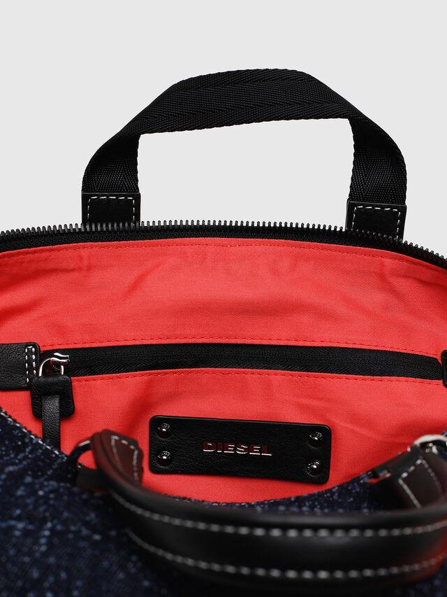 Diesel - MISS-MATCH SATCHEL M, Blue Jeans - Satchels and Handbags - Image 4