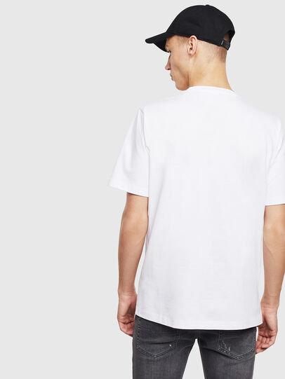 Diesel - T-JUST-T23, White - T-Shirts - Image 4