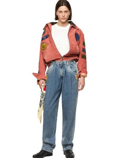 Diesel - DxD-3, Orange - Leather jackets - Image 8
