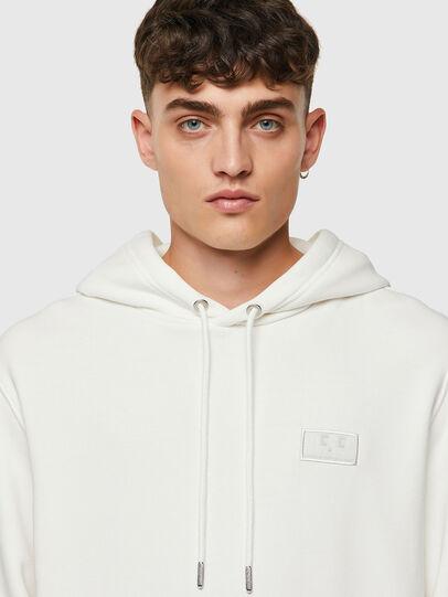 Diesel - S-GIRK-HOOD-C.C, White - Sweaters - Image 3