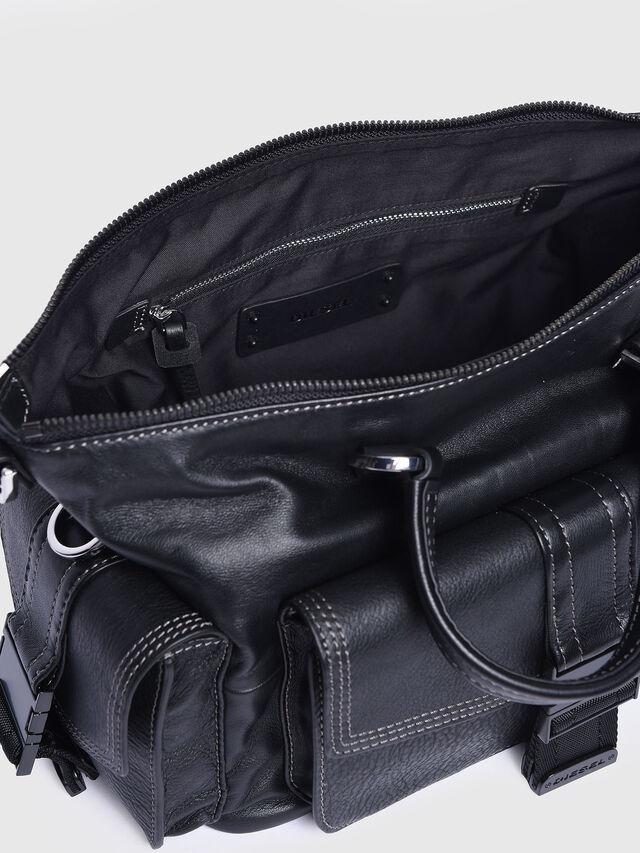 Diesel - MISS-MATCH SATCHEL M, Black - Satchels and Handbags - Image 3