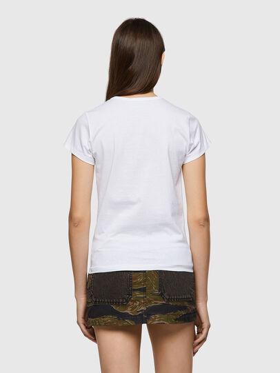Diesel - T-SLICUP-B1, White - T-Shirts - Image 2