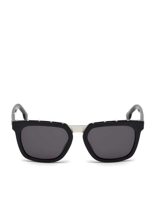 Diesel - DL0212, Black - Sunglasses - Image 1