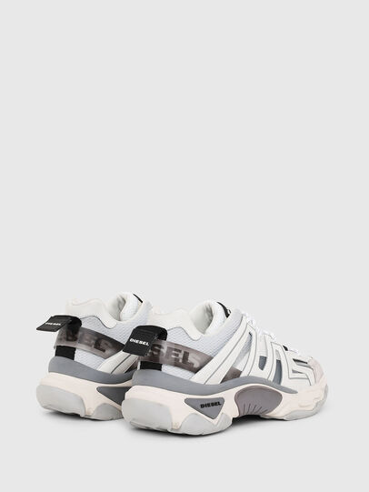 Diesel - S-KIPPER LOW TREK, White - Sneakers - Image 3