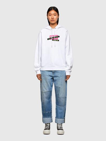 Diesel - F-ANG-HOOD-R20, White - Sweaters - Image 4