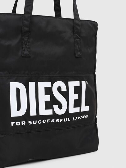 Diesel - BBAG-TOTE, Black - Beachwear accessories - Image 5